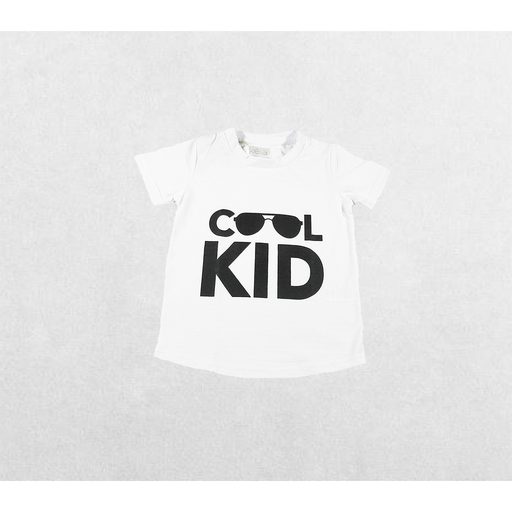 CAMISETA BLANCA COOL KID